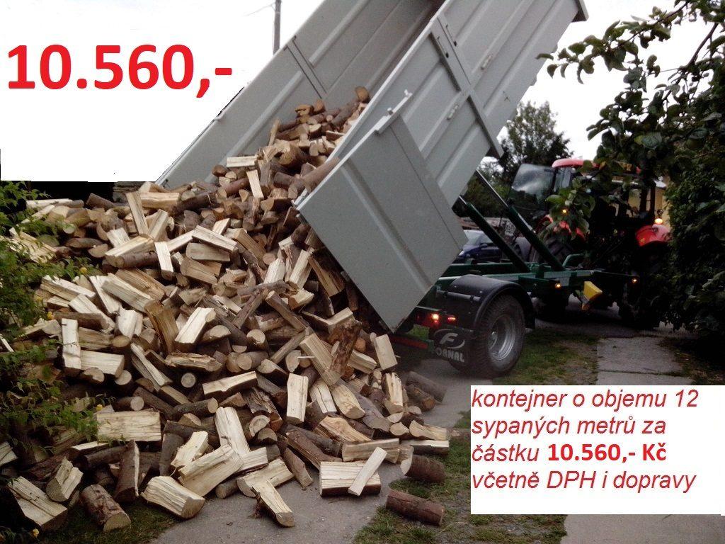 Grafika-kontejner 12 sypaných metrů za 10 560 Kč