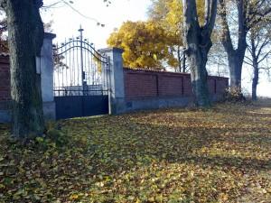 rekonstrukce hřbitova