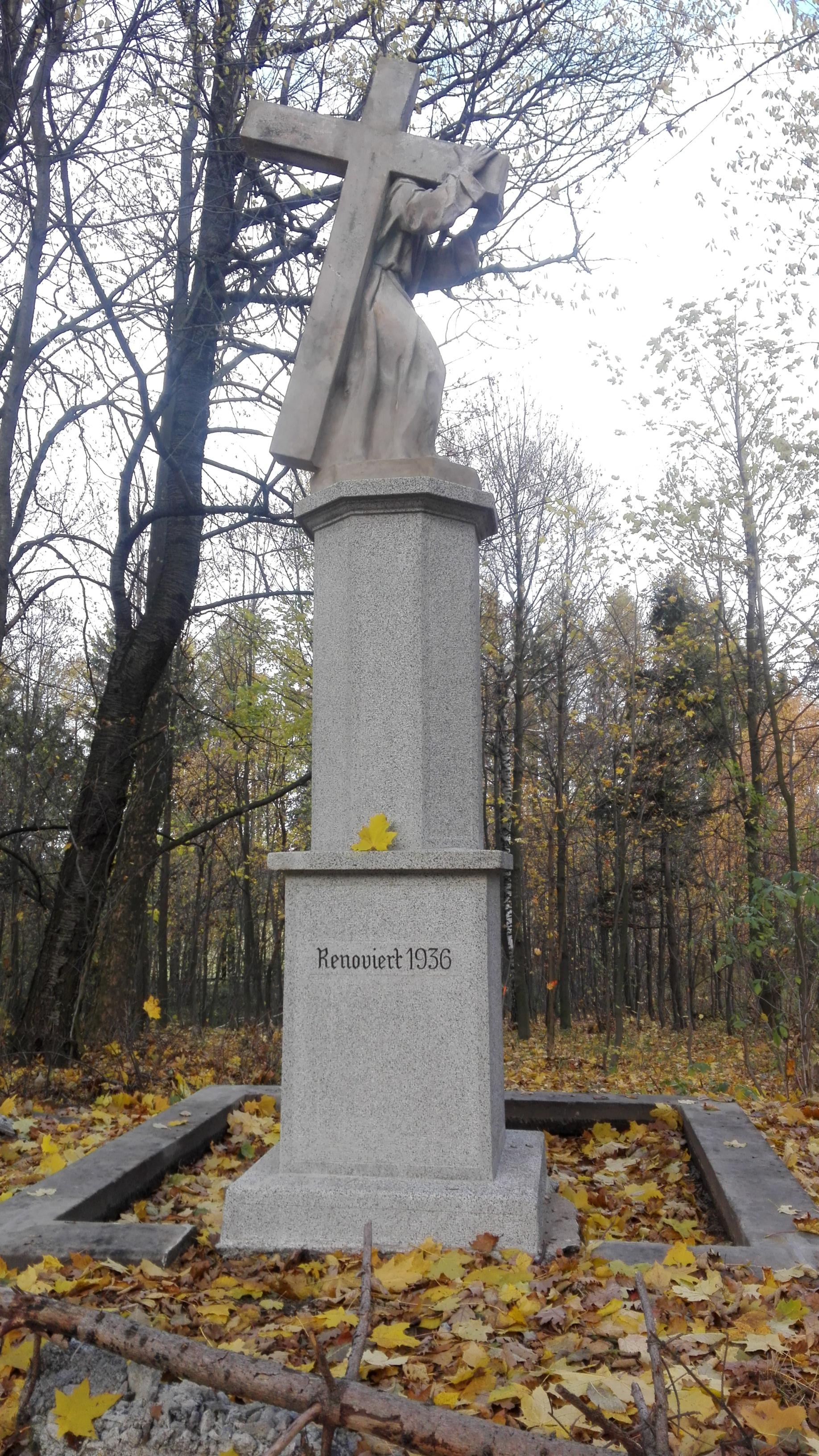 Grafika - vyčištěná socha Ecce Homo