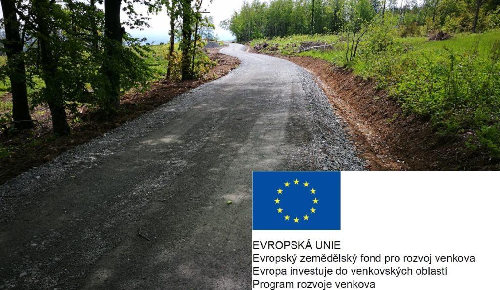 Grafika-Lesní cesta - Program rozvoje venkova