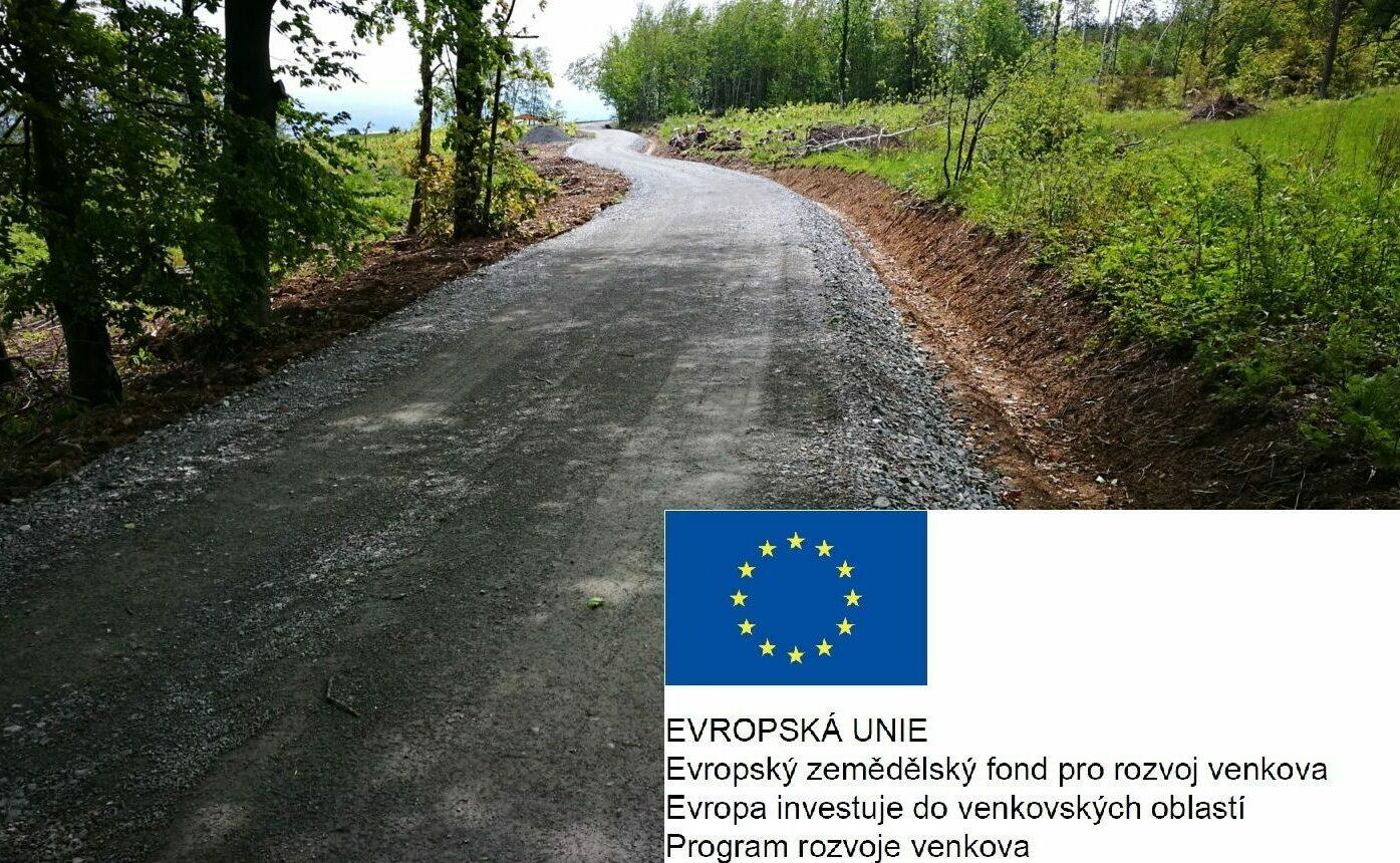 Grafika-cesta, logo EU