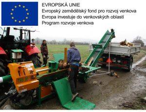 Grafika-Štípací stroj - Program rozvoje venkova